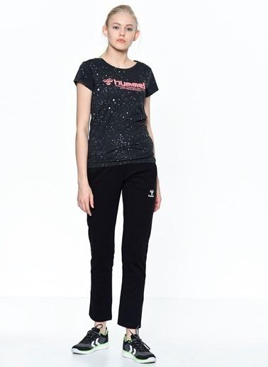 Hummel Hmlspina T-Shirt S/S Kadın T-Shirt Siyah